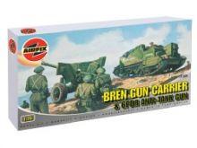 Airfix Bren Gun Carrier and 6pdr Anti-Tank Gun (A01309)