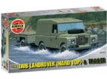 Airfix LWB Landrover (Hard Top) and Trailer (A02324)