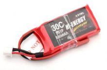 Hi-Energy Extreme 2S 7.4v 650mAh 30C Li-Po