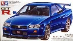 Tamiya Nissan Skyline GT-R V-Spec (R34)