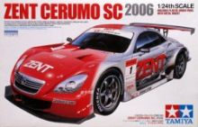 Tamiya Zent Cerumo Sc 2006 1/24 Model Kit