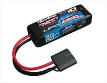 Traxxas 2200mAh 7.4V 2S 25C LiPo ID Battery - All 1/16