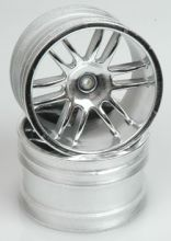 Schumacher Havoc chrome wheels 12 spoke pr