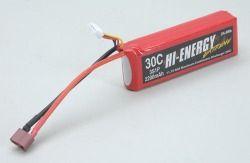 Hi-Energy Extreme 3S 11.1v 2200mAh 30C Li-Po