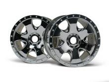HPI Savage Warlock wheels chrome