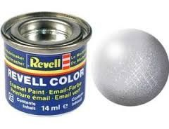 Revell Enamel Paint number 90 metallic silver