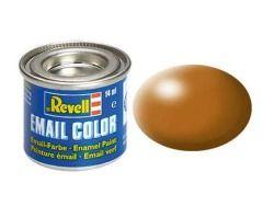Revell Enamel Paint number 382 silk matt wood brown