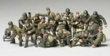 Tamiya Russian Infantry and tank crew 1/48th