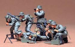 Tamiya German Machine gun troops 1/35th