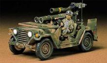 Tamiya U.S. M151A2 w/Tow Launcher Kit