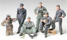 Tamiya German Tank Crew at rest