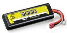 Absima 7.4V 30C 3000 Hardcase Lipo Round Case