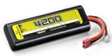 Absima 7.4v 30C 4200 Hardcase Lipo Round Case