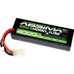 Absima 7.4V 45C 4000 Hardcase Lipo Pack
