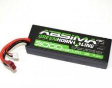 Absima 7.4V 45C 5000 Hardcase Lipo Pack