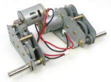 Snow Leopard KV-1 metal gearbox motor set (3838/78)
