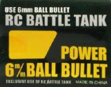 RC Tank 6MM BB 300 pcs