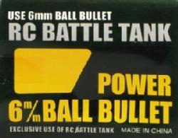 RC Tank 6MM BB (300) tanks