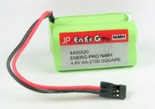 Energ 4.8V AA 2100mAh Square nimh rx pack