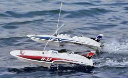 Aquacraft Mini Thunder RTR blue