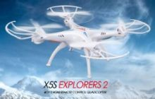 SYMA X5SC 2.4G Quadcopter Drone with HD Camera & Headless mode