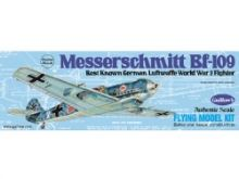 Guillows Messerschmitt BF-109 wooden aircraft kit