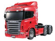Tamiya Scania R620 6x4 highline truck kit