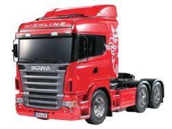 Tamiya Scania R620 6x4 highline truck kit