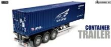 Tamiya RC Container Trailer NYK - 40ft 3-Axle