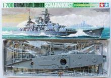 Tamiya Scharnhorst model ship 1/700 scale