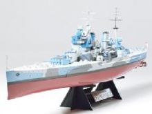 Tamiya King George V model ship