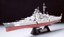 Tamiya Bismarck model ship