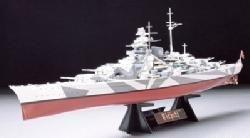 Tamiya Tirpitz model ship