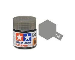 Tamiya mini acrylic paint 10ml X-19 smoke