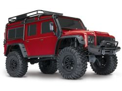 Traxxas TRX-4 Land Rover Defender 110 RED