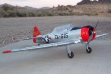 Dynam AT-6 Texan ARTF 1370mm