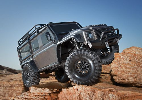 Traxxas TRX-4 Land Rover Defender 110 GREY *SALE*