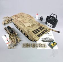 1:16 US British Challenger 2 with Infrared Battle System (2.4GHz + Shooter + Smoke + Sound)