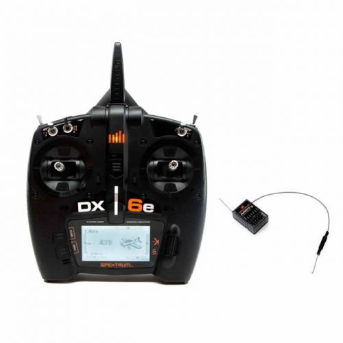 Spektrum DX6e 6-Channel Full Range DSMX Radio System with AR610 Receiver