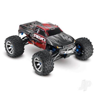 Red Revo 3.3 1:10 4WD Nitro-Powered Monster Truck (+ TQi, Wireless Module, TSM, Telemetry)