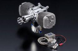 O.S. GT120T TWIN-CYLINDER 120CC PETROL ENGINE L-OS3AB00