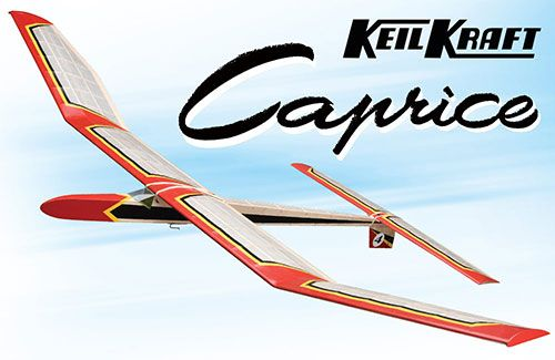 "Keil Kraft Caprice Kit - 51"" Free-Flight Towline Glider"