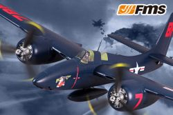 FMS 1700MM F7F Tigercat Blue artf Warbird