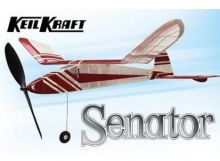 Keil Kraft Senator Kit - 32inch Free-Flight Rubber Duration
