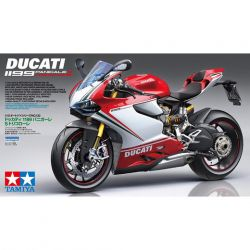 TAMIYA 14132 Ducatti 1199 Panigale S - Tricolore 1:12 Bike Model Kit